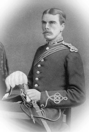 Major Erasmus Osvaldo Thorn at the end of the second Ango-Boer War in 1902