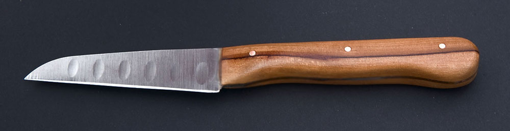 Purchase fruitwood knife scales from www thorn-creek com